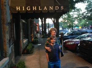 Mother and Truman at Highlands in June 2014